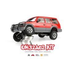 Новое поступление orlandoo 1/32 4WD DIY RC Car Kit orlandoo-Охотник OH32A02 RC Рок Гусеничный без электронного Запчасти телефона Размеры LBLA 32833605268