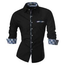 2019 весна осень особенности рубашки мужские повседневные джинсы рубашка новое поступление с длинным рукавом Повседневные Slim Fit Мужские рубашки Z020 jeansian 32598684601
