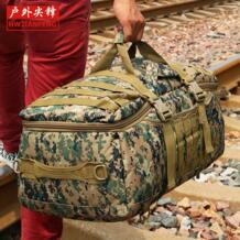 Бесплатная доставка Advanced камуфляж Многофункциональный Чемодан сумка большая емкость сумка Повседневная Мужская Рюкзак Дорожная сумка YCW9339 D5Column 32387135694
