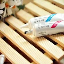 GUJHUI оптом по всему миру Водонепроницаемый накладные макияж ресниц клей для ресниц 9g 1/4 oz Фирменная Новинка Blue ZOO 32704741428
