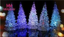 бренд светящиеся игрушки Рождественская елка многоцветная меняющаяся светодио дный лампа для вечерние украшения свадебные светящиеся игрушки для детей MUQGEW 32841572108