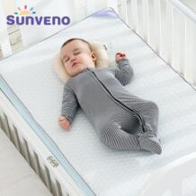 SUNVENO дышащие детские матрасы Новорожденные матрас Высокое качество удобный матрас классический Дизайн 120x60 см No name 32859452801