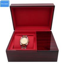 Best для подарок пустой Класс квадратный коричневый Глянцевая роскошный подарок часы Коробки Дисплей для хранения квадратные часы Alibaba завод Xinlu Custom 32803692322