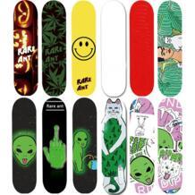 Бесплатная доставка Новый Скейтборд Стикеры Водонепроницаемый 24*85 см Стикеры s на спине скейтборд FIBERSKATE 32825092054