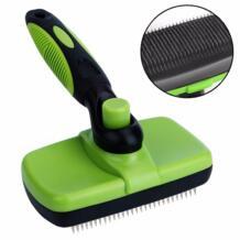 Pet расческа гребень для ухода собака самостоятельно щетка для чистки для маленькой большой собаки Cat Короткие Длинные выпадение волос DogLemi 32860546739