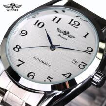 Топ Luxry бренд победитель для мужчин автоматические механические наручные часы нержавеющая сталь бизнес человек мужской Atmos T-winner 32620993079