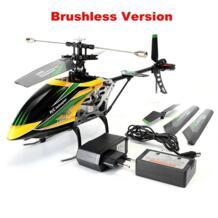 WLtoys V912 4CH бесколлекторный р/у вертолет с гироскопом 360 3D сальто с управлением от первого лица без контроллера для детей игрушки подарок Topacc 32815809223