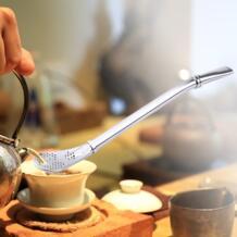 Нержавеющая сталь ложка чай фильтр Yerba mate чай питьевой соломинки Bombilla Тыква моющиеся практические инструменты барные аксессуары winnereco 32844153554