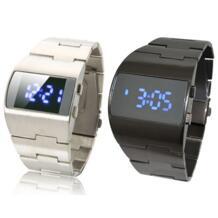 Новые мужские наручные часы синий светодиодный лампы электрон цифровые часы высокого класса подарок часы Лидер продаж Relogio Zien 32633382634