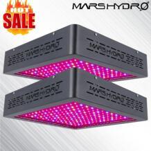 2 шт. Mars II 900 Вт светодиодный светать/лампы полного спектра светодиодный Панель для гидропоники системы No name 1921035348