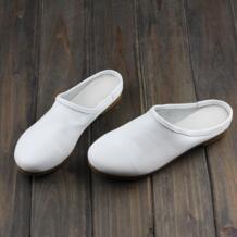 Женская обувь ярких цветов на плоской подошве из натуральной кожи, женские лоферы без шнуровки, коллекция 2016 года, летняя обувь с/без отверстий (6108-3) IMTER 32580708598