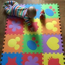 12 шт. детская пена головоломки коврики EVA ребенка играть коврики EVA пены коврик для младенческой дети головоломки игра коврик крытый Декор коврик PX09 No name 32646123922