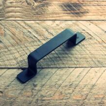 Черная выдвижная ручка сверхмощная твердая чугунная раздвижная дверь сарая оборудование barndoor 32794034038