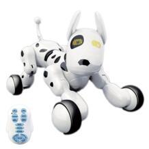 Горячая Распродажа Беспроводной пульт дистанционного управления smart робот собака Ван Син Электрический Собака Раннее Образование Развивающие игрушки для детей (белый) MAGICYOYO 32873407868