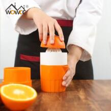 портативный ручной соковыжиматель для лимона мини-соковыжималка для фруктов Ручной пресс Лимон Апельсин соковыжималка для цитрусовых большой емкости соковыжималка для лимона WOWCC 32843741788