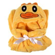 Животные Детский халат милый мультфильм фланелевый детский с капюшоном банное полотенце одеяло для ребенка детский халат No name 32636370802