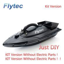 RC лодка НДС 2011-5 рыболокатор 1,5 кг загрузка дистанционного управления лодка для доставки прикорма и оснастки RC игрушки комплект версия DIY Speedboats RC игрушки Flytec 32966001891