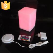 D10 * H15cm свет светодиодный квадратный светоизлучающих барный стул cube красочный цвет ЧП четыре излучающих мебель творческий бесплатная доставка 50 шт. No name 32361303179