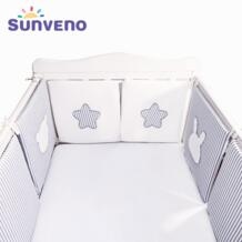 бортики в кроватку бортики для новорожденных кроватка детская новорожденные бортики в детскую комнату Sunveno 32994516611