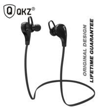 Bluetooth наушники G6 Беспроводные стереонаушники Мода Спорт Бег canalphones Studio музыка гарнитуры с микрофоном QKZ 32480937791