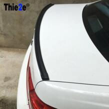 Автомобиль углеродного волокна задний спойлер крыло для Chevrolet Cruze Aveo Captiva Lacetti Trax парус Epica для Buick Excelle бис аксессуары Thie2e 32770058501