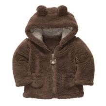 Плотные теплые пальто с длинным рукавом сезона осень-зима для маленьких девочек верхняя одежда принцессы для маленьких детей No name 32564784533