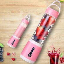 480 мл Портативный руководство электрическая соковыжималка чашка бутылки с водой USB зарядка соковыжималки фрукты овощи ручной блендер DIY сок Maker No name 32879698323