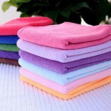 10 шт. горячая Распродажа случайный цвет карамельный цвет успокаивающий хлопок лицо/полотенце для рук/чистящая ткань для мытья дома чистый автомобиль LINSBAYWU 32808463851