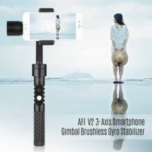 Afi v2 3 оси ручной смартфон Gimbal Бесщеточный гироскоп стабилизатор для iphone Sumsung Huawei Xiaomi 3.5-5.5 смартфонов No name 32819627036
