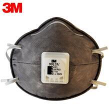 2 шт. 3 м 9913 V активированный уголь PM 2,5 Маска от пыли нетканый ткани складной фильтр с дыхательной ручной аппарат для искусственной вентиляции легких взрослых N95 No name 32792719416