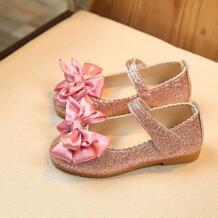 Детские Первые Рождественские девочки принцесса сандалии дети бант нубук кожаная обувь разнопарая детская обувь танцевальная обувь платье девушка обувь ISHOWTIENDA 32847105640