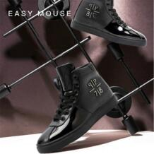 Новые брендовые кроссовки Zapatos De Hombre, модная обувь для скейтбординга, высокие кроссовки на шнуровке, Мужская обувь из искусственной кожи, Уличная обувь, беговые кроссовки ayakkabi Conmeive 32821678682