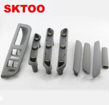 SKTOO для VW passat B5 (серый) внутренняя дверная ручка/внутренняя ручка/внутренний подлокотник Бесплатная доставка No name 32697764307