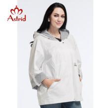 Астрид новый летний женщин высокое качество мода плащ большой размер плед три четверти рукав L-5XL AS-2519 Astrid 32594576171