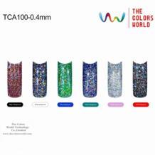 0.4 мм Лазерная серебро Цвет голографические Блестки для ногтей лак для ногтей гелем или Другое украшения искусства No name 32259933942