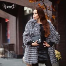 BF мех натуральный мех пальто роскошный женский зимний модный стиль натуральный мех жилет пальто женский серебряный Лисий мех пальто русский мех пальто Тонкий No name 1794202072