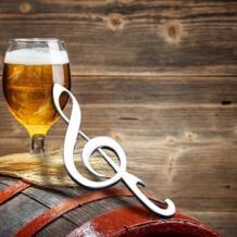 Творческий День рождения Свадьба Нержавеющаясталь нот открывалка для бутылок пива abridor де Garrafa abridor де cerveja hv5n LINSBAYWU 32725649857