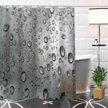 Best хороший заказ капли дождя душ шторы для ванной водостойкая ткань для ванная комната больше размеры WJY #80 shunqian 32802507186