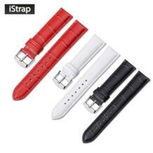 Ремешок для часов из натуральной кожи ремешок для IWC Victorinox браслеты Tang Пряжка ремень для женщин для мужчин 12 13 14 16 18 19 20 21 22 24 мм iStrap 32229356830