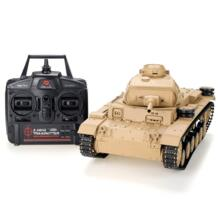 Heng Long 1/16 2,4 г 3849-1 Tauch Panzer III Ausf. H боевой танк на радиоуправлении FS 32837096830