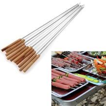 10 шт. принадлежности для барбекю и барбекю, инструменты для обжарки игл, шашлыки Tong Kebabe, Прямая доставка BLUELANS 32706256786