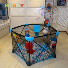 складной детский манеж для малышей портативный манеж без необходимости Instrallation игровой манеж детские палатки для новорожденных IMBABY 32961253034