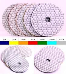 """400 #5 """"(125 мм) камень алмаз сухой 125 мм полировки, дисков для полировки камень No name 32625053895"""