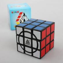 Super 3x3 Crazy cube Черный волшебный скоростной куб Cubo Magico обучающая игрушка идея подарка WITEDEN 32678611246