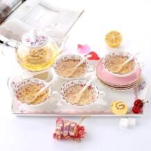 Малый Suihua костяной фарфор чайный сервиз чайный послеобеденный чай и кофе Бесплатная доставка No name 32829899480
