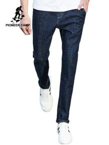 Пионерский лагерь новый дизайн джинсы мужские известный бренд одежды мужские джинсовые брюки модные повседневные узкие джинсы брюки для мужчин ANZ707001 Pioneer Camp 32790603182