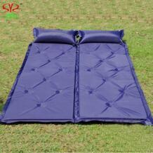 Коврик для кемпинга на открытом воздухе толщиной 5 см Автоматическая надувная подушка коврик на открытом воздухе палатка Кемпинг коврики двойной надувной матрас для кровати No name 32232627931