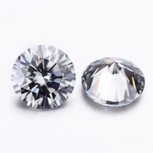 Серый цвет 7.0 мм moissanites свободные драгоценные камни для изготовления ювелирных изделий испытания положительный No name 32779658955