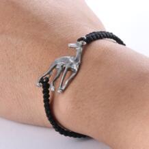 Борзая браслет старинное серебро Galgo Серый собака животных браслет для Для мужчин Для женщин 2018 Tkuamigo 32533136539