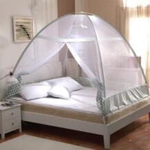 Лидер продаж, складная фиолетовая москитная сетка, зеленая коричневая двойная кровать москитная сетка для взрослых, новые летние постельные принадлежности, москитные сетки Portabel No name 32697779047